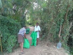 Einheimische Helfer