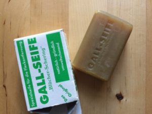Environmentally friendly gall soap